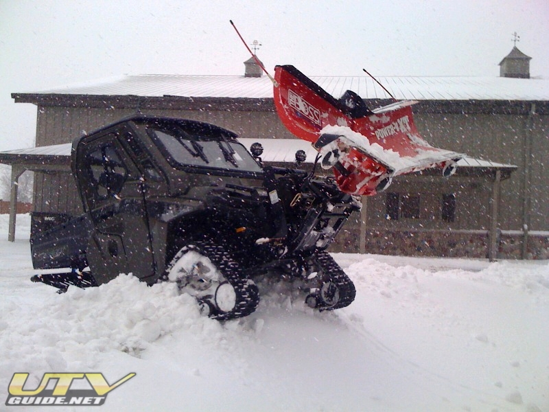 Polaris Ranger Hd Used For Hunting Plowing And Yard