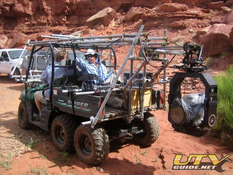 Polaris Ranger 6x6 Used As A Mobile Film Platform Utv