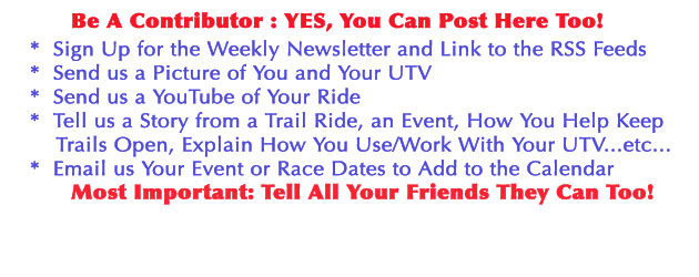 Be a Contributor for UTV Weekly