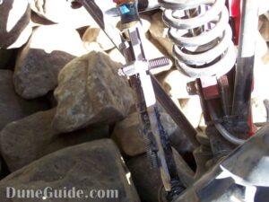 Broken Tie Rod Repair