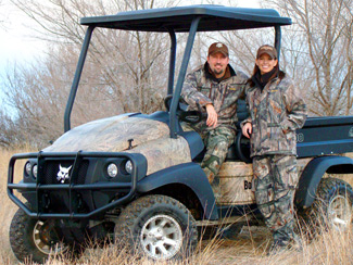Bobcat Named The Official Utility Vehicle of Beyond The Hunt With Rick and Julie