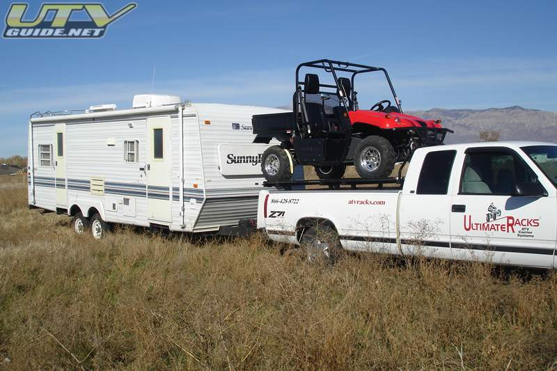 Getting Your Utv To The Trail Head In The Back Of Your