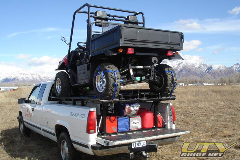 How To Pull A Trailer With Rzr In Short Bed Truck