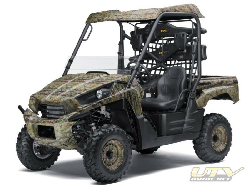 Camouflaged 2010 Kawasaki Teryx Ready for Outdoorsmen