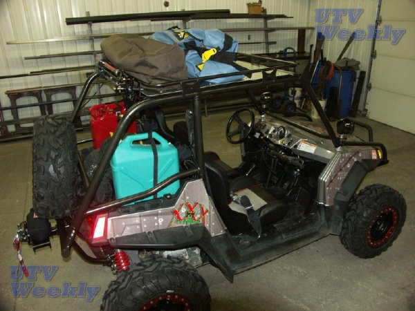 Rzr Suv Cage With Full Length Roof Rack Polaris Rzr