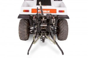Bobcat Toolcat 5610 Category 1 three-point hitch with PTO