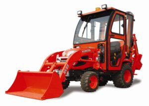 Curtis Introduces New Cab for Kobota BX Series Compact Tractors