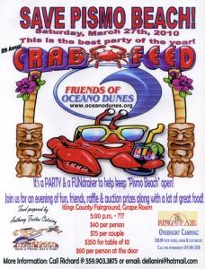Friends of Oceano Dunes 2010 Crab Feed