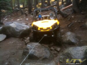 Can-Am Commander 1000 XT on Barrett Lake Jeep Trail