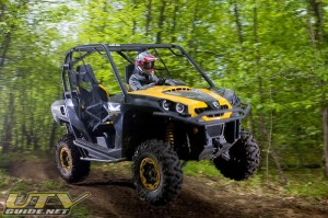 Jumping the Can-Am Commander 1000 X