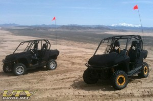 Can-Am Commander 1000 X and XT at Little Sahara