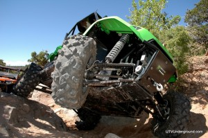 2011 Kawasaki Teryx on Green Day, Area BFE