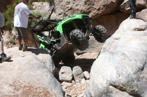 Another tough obstacle on Helldorado Trail, Area BFE