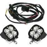 Baja Designs 3″ Squadron LED Light Adventure Bike Kit
