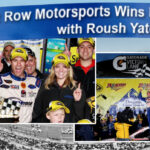 Front Row Motorsports Wins First Race with Roush Yates Engines
