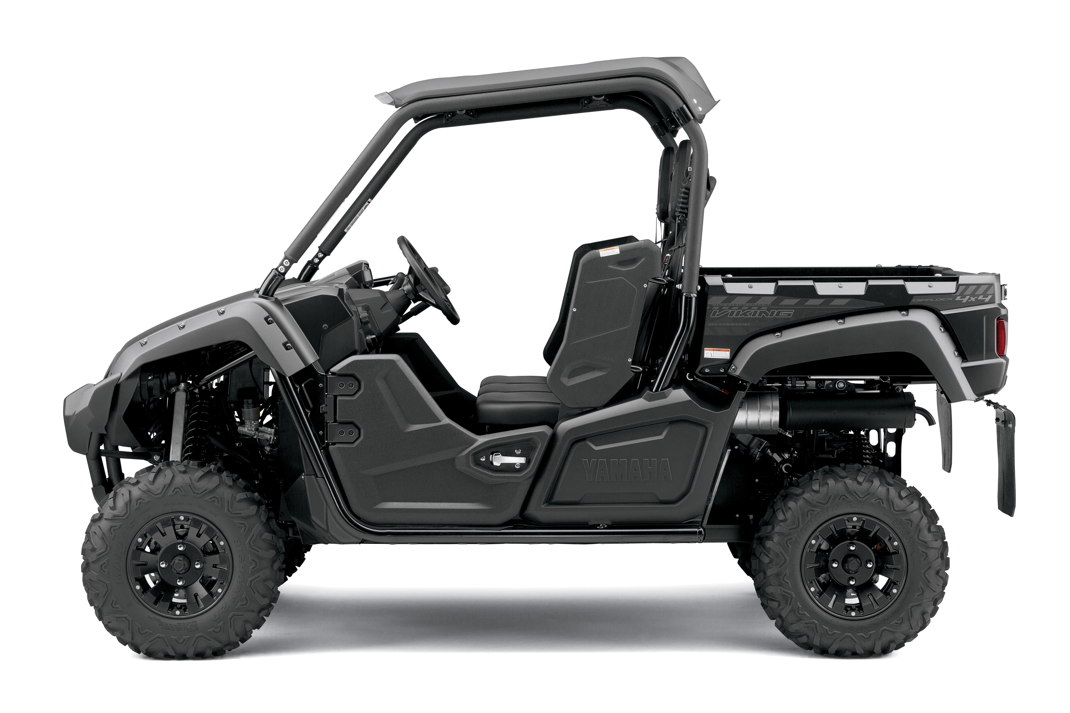 Yamaha announces new tactical black viking tm eps 4x4 for Yamaha viking 3 seater
