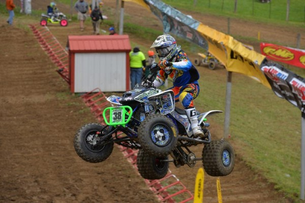 Sam Rowe piloted his ITP-outfitted Honda to two victories at High Point Raceway, winning both the Open A and 450A classes