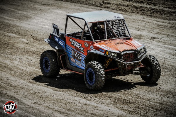 Sara Price took eighth place in the Walker Evans RZR class at round three riding on ITP Terracross tires. (Photo by Shilynn Milligan :: UTVUnderground.com)